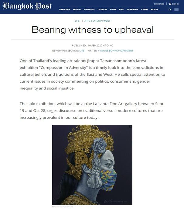 Bearing Witness to Upheaval