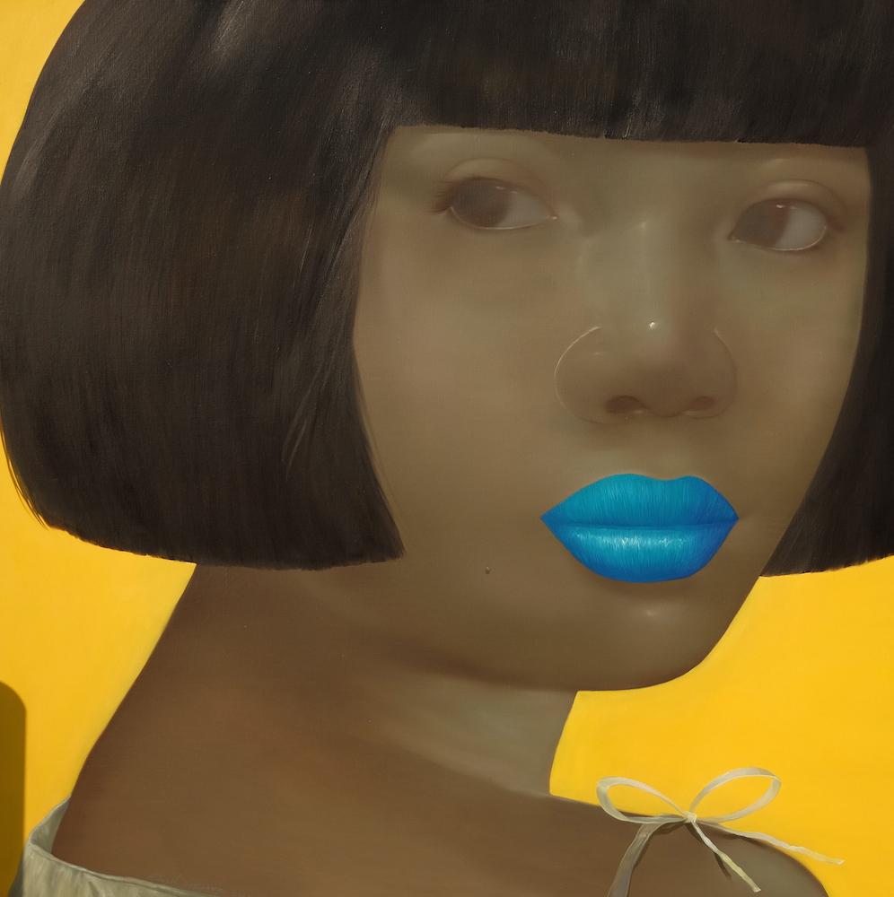 Blue Lipped Lady